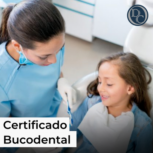 certificado bucodental